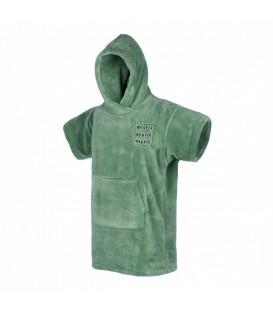 poncho teddy seasalt green junior