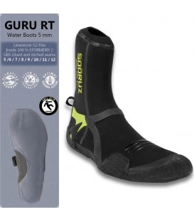 surf boots 5mm guru Round toe
