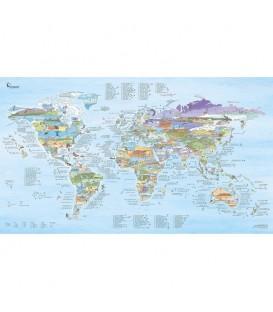 carte du monde surftrip